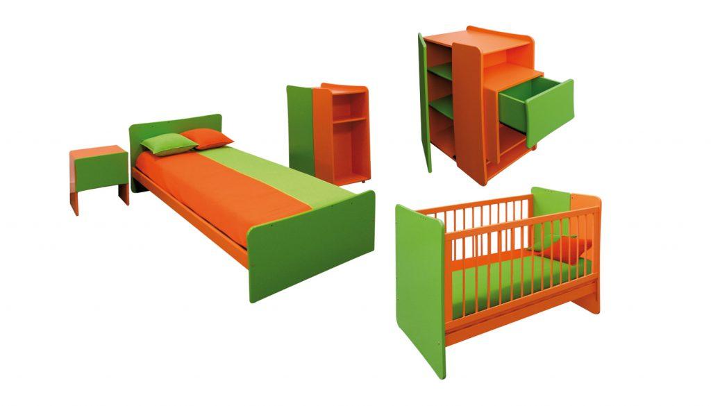 Linha de mobiliário infantil.