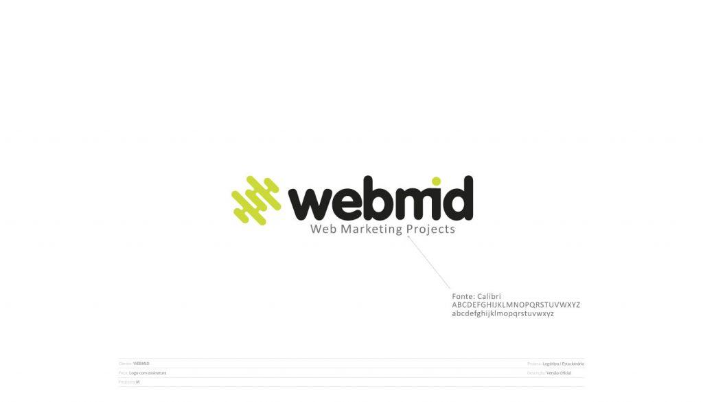 Logo estacionário Webmid